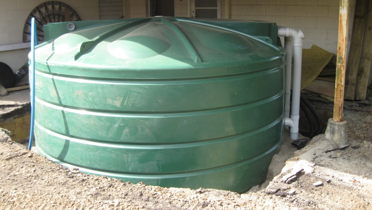 Stormwater detention tank